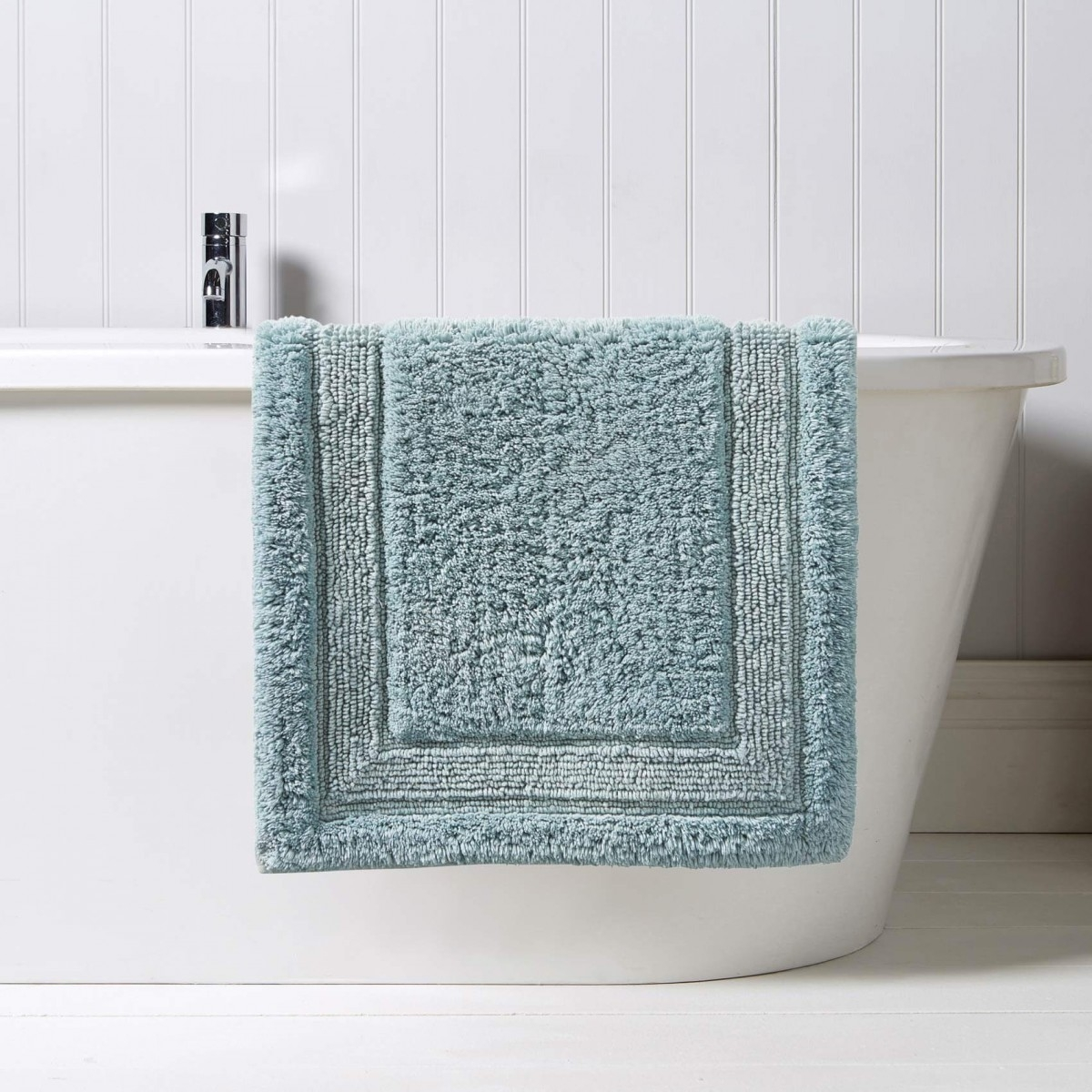 Permalink to Spa Blue Bath Rugs