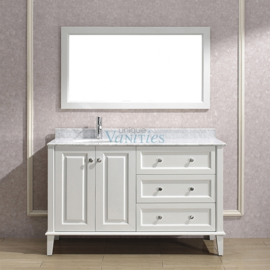 54 Inch Wide Bathroom Vanities