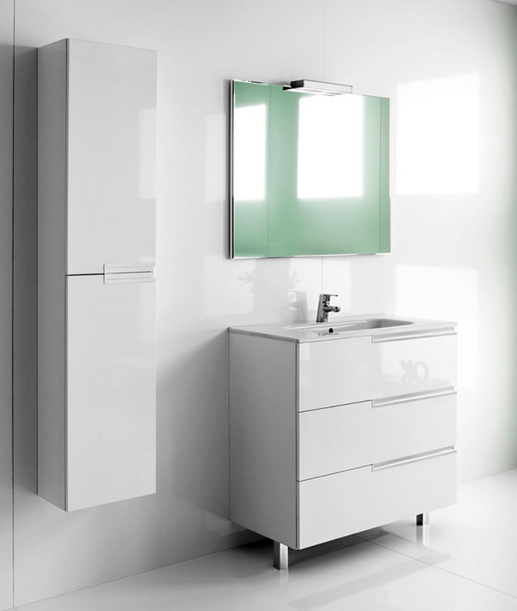 Bathroom Vanity Units With Basin And Mirror