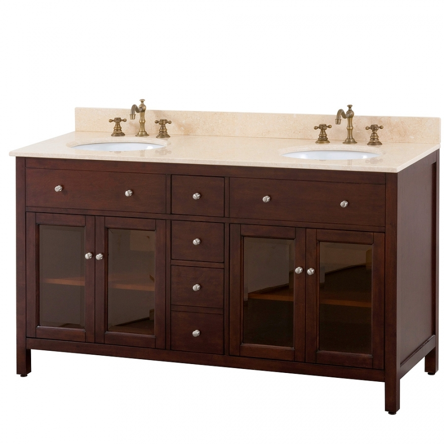 Double Bathroom Vanity Without Top