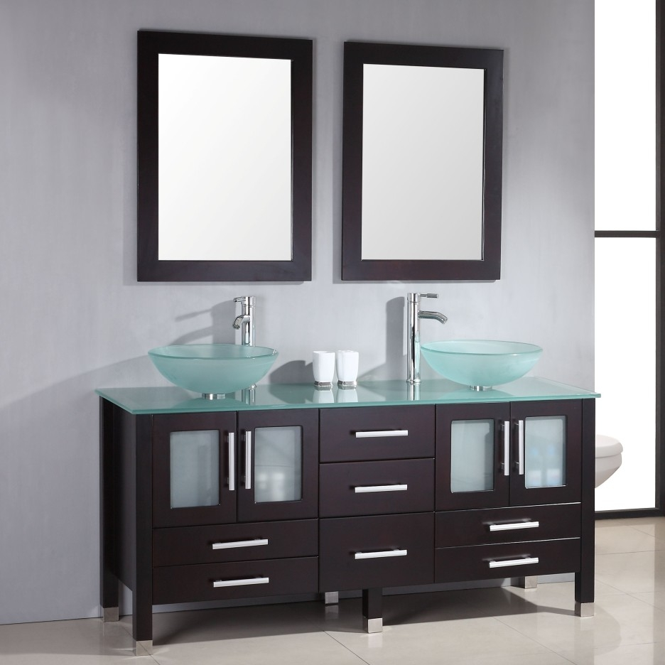 Modern Bath Vanity Vessel Sink