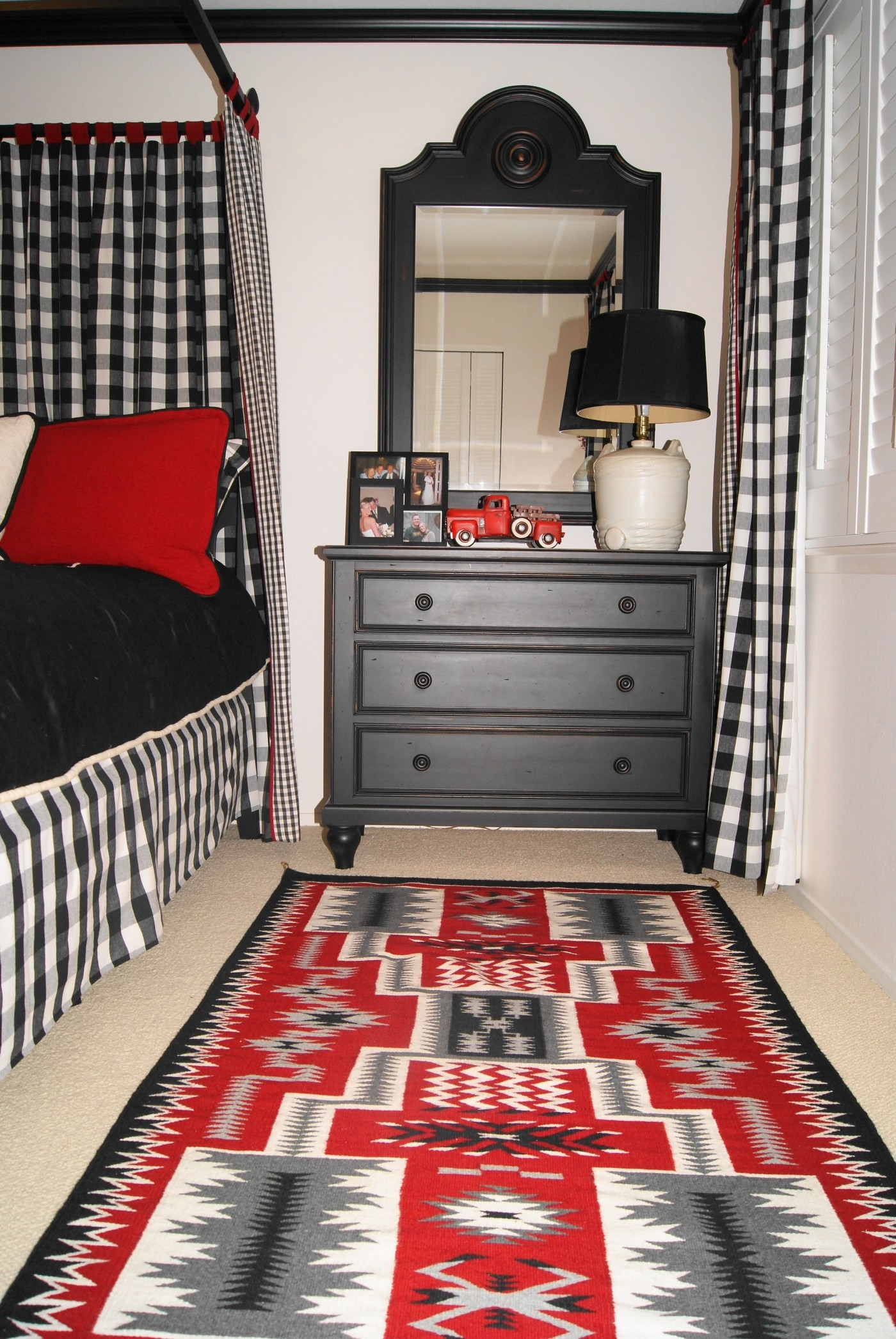 Red Black And Gray Bathroom Rugs
