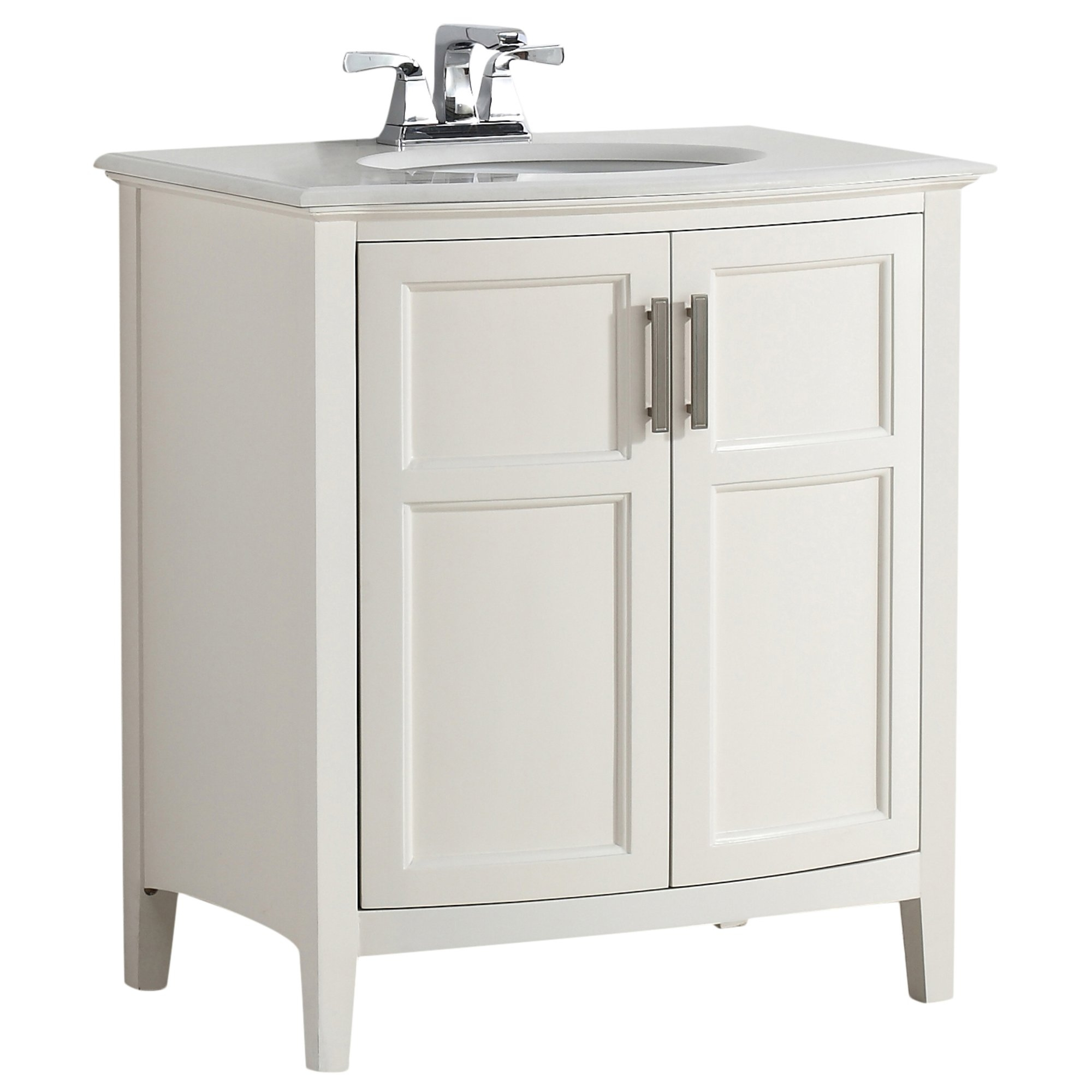 Rounded Front Bathroom Vanity