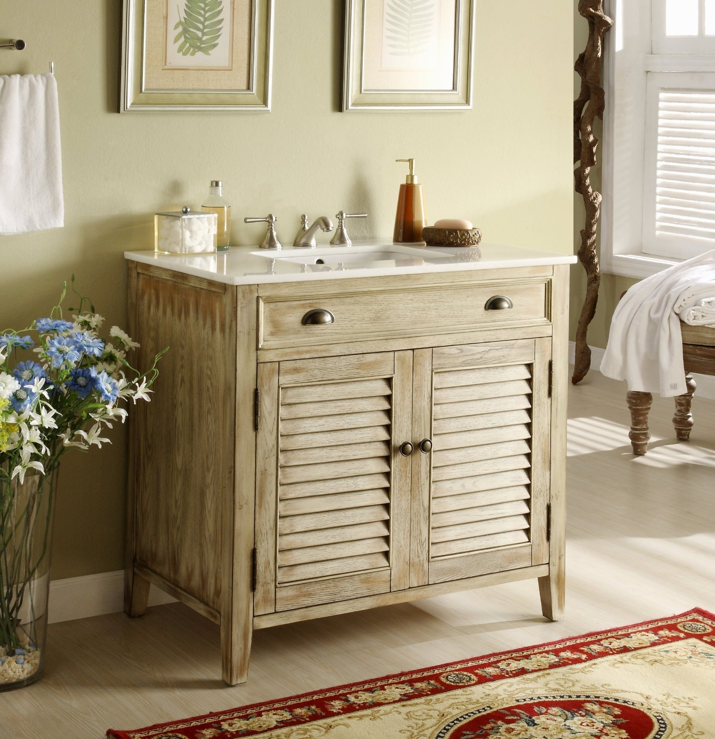 Small Bathroom Vanities That Look Like Furniture