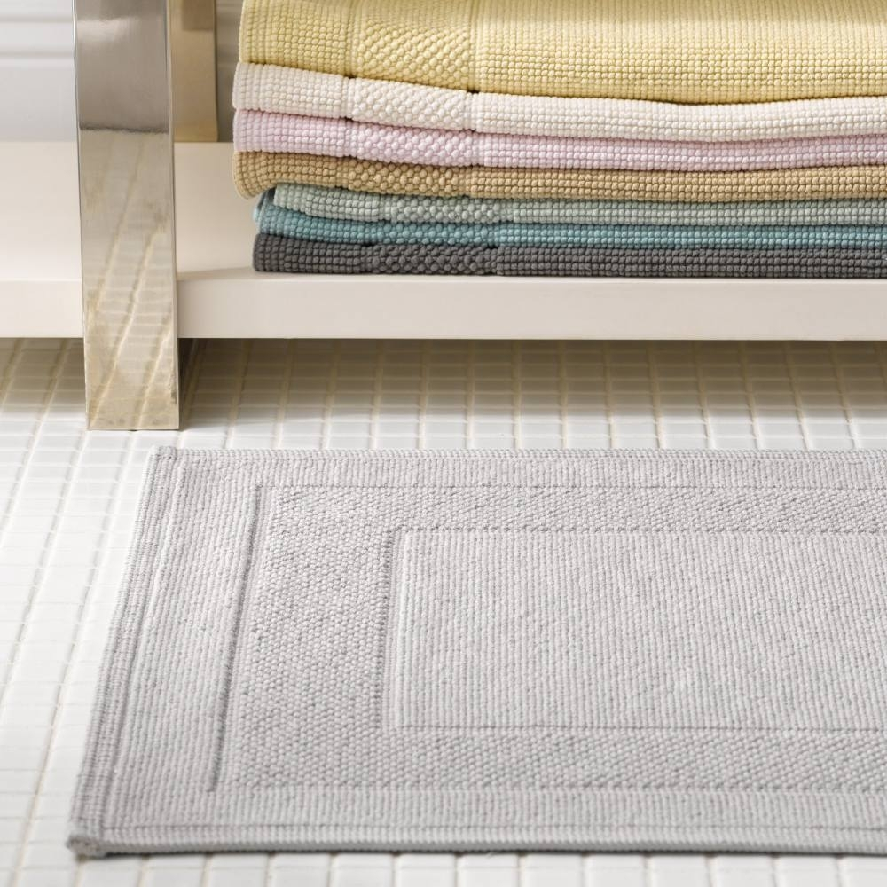 Thin Cotton Bath Rugs