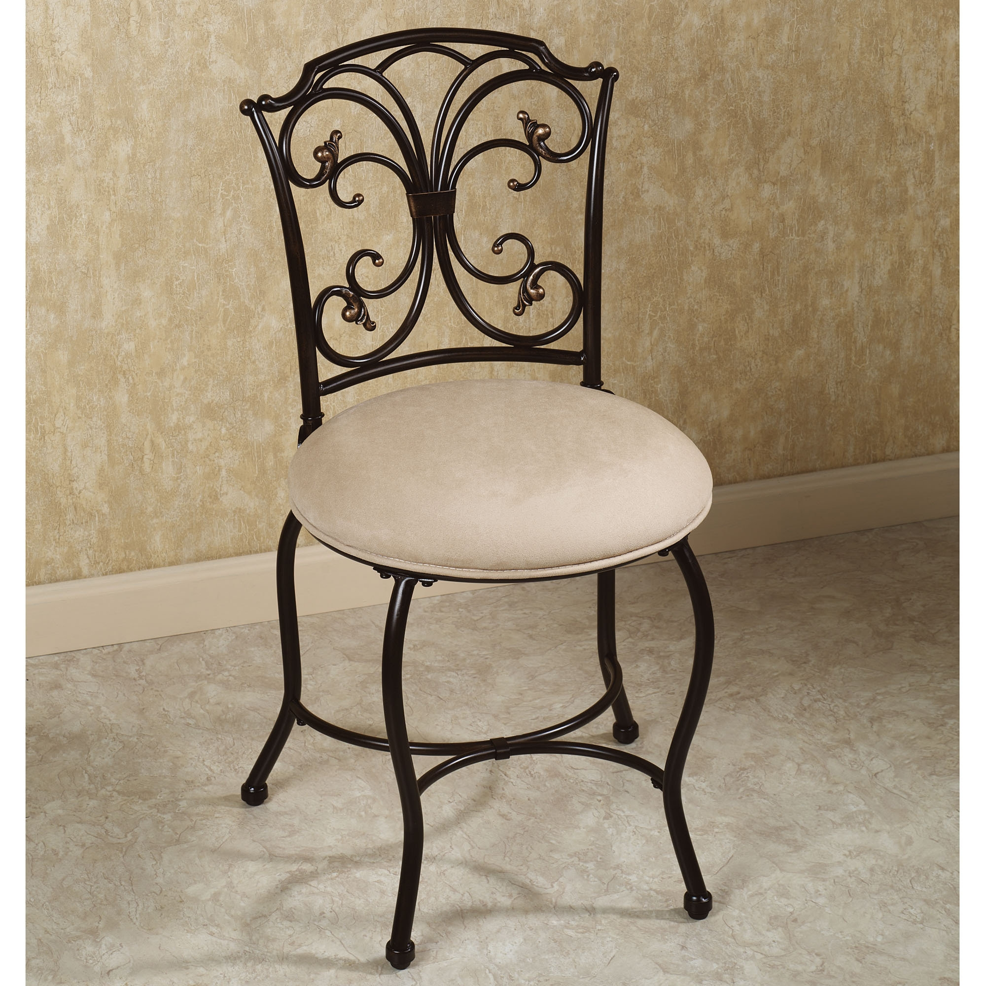 Upholstered Vanity Chairs For Bathroom
