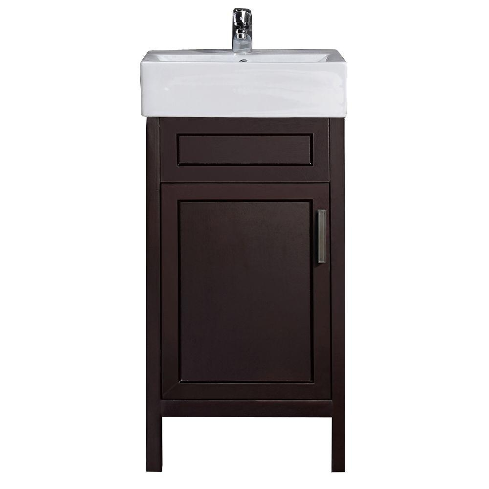 18 Inch Deep Bathroom Vanity With Sink