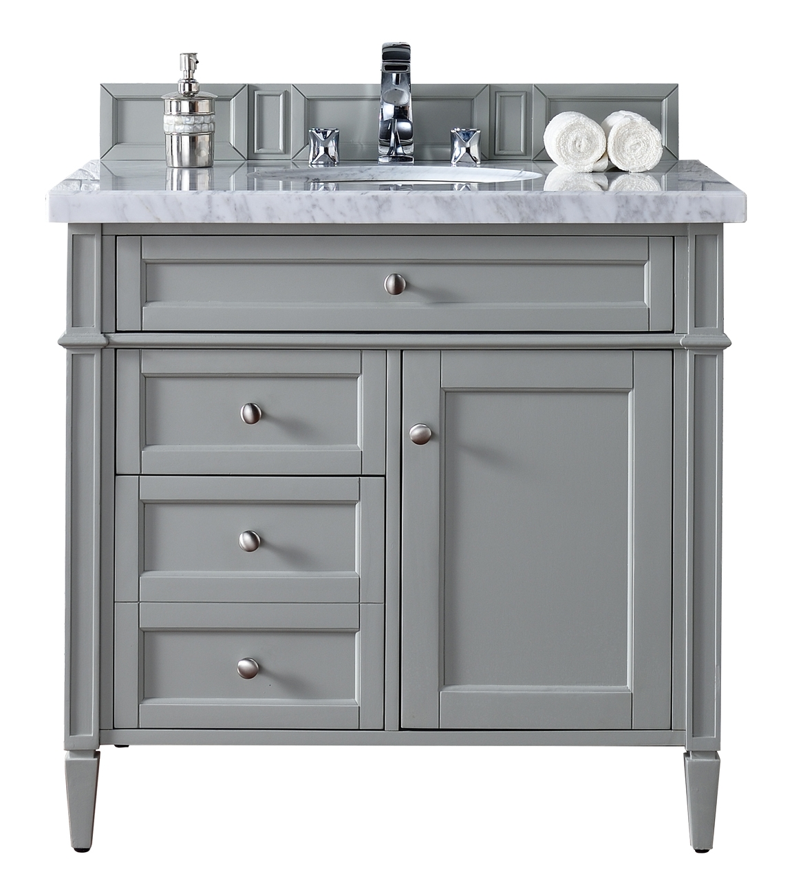 27 Inch Bathroom Vanity Cabinet With Drawers