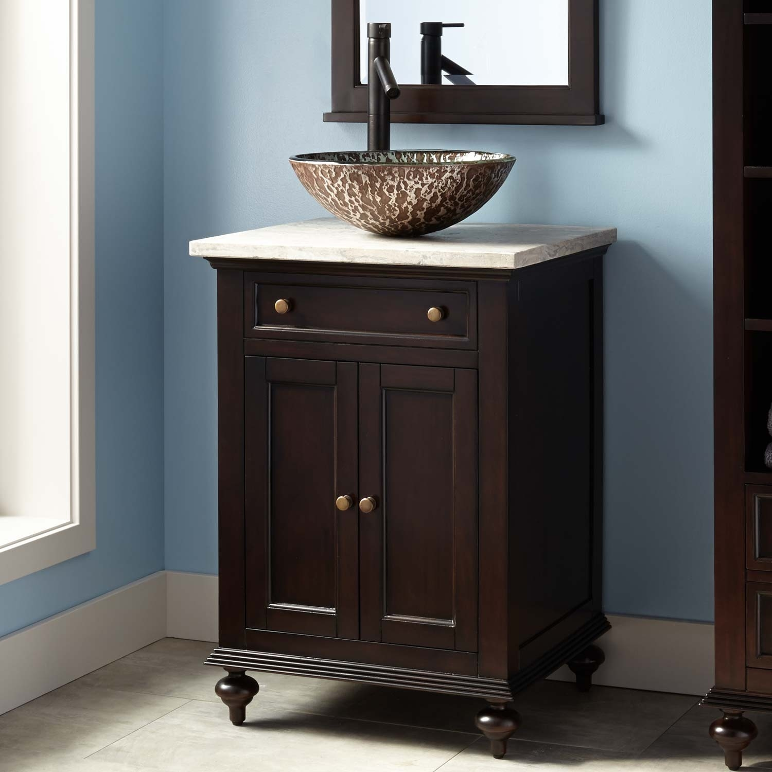 28 Inch Bathroom Vanity With Vessel Sink