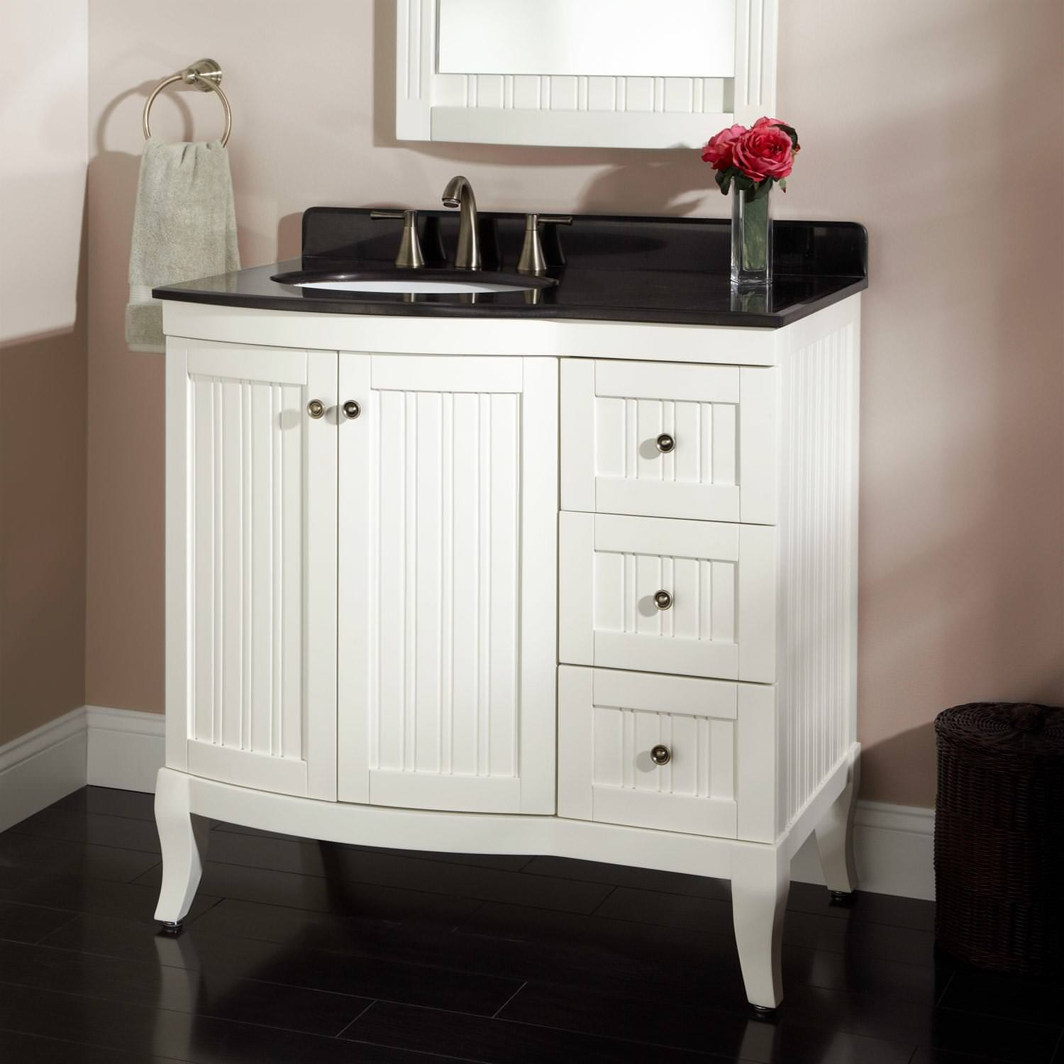 30 Inch Bathroom Vanity With Top And Drawers