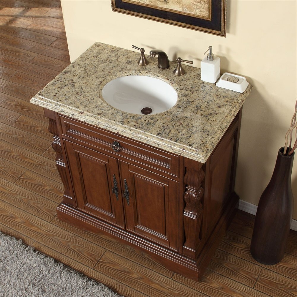 36 Bathroom Vanity With Granite Top