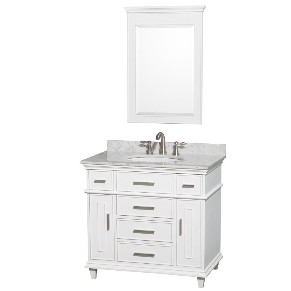 Permalink to 36 Inch White Vanity Cabinet