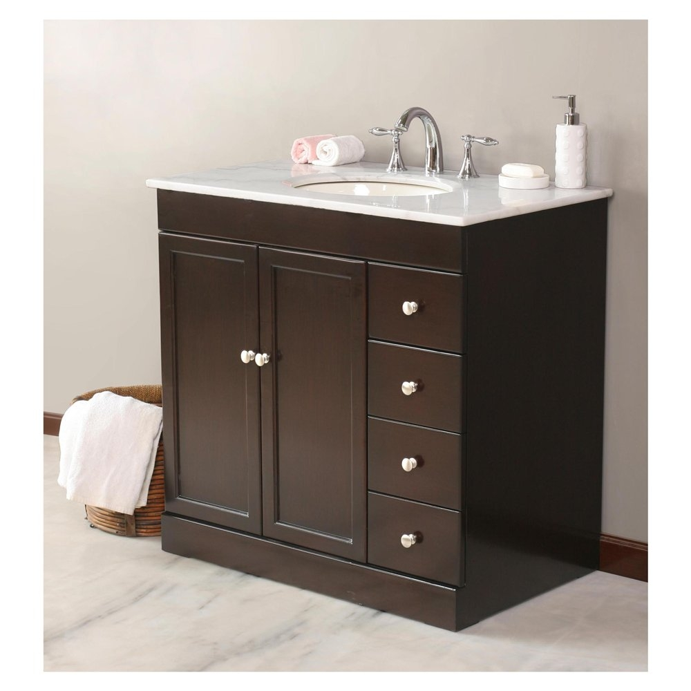 36 X 19 Inch Bathroom Vanity