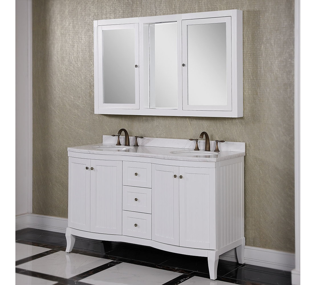 48 Double Sink Bathroom Vanity Cabinet