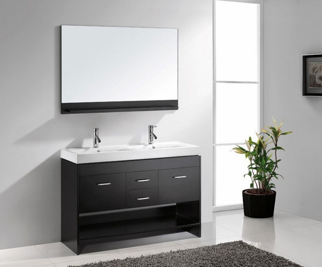 48 Inch Bathroom Vanity With Trough Sink