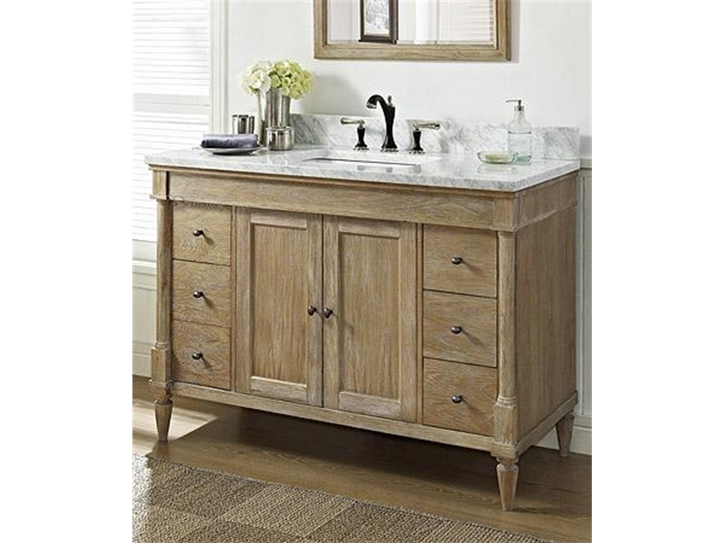 48 Inch White Vanity Without Top1024 X 768