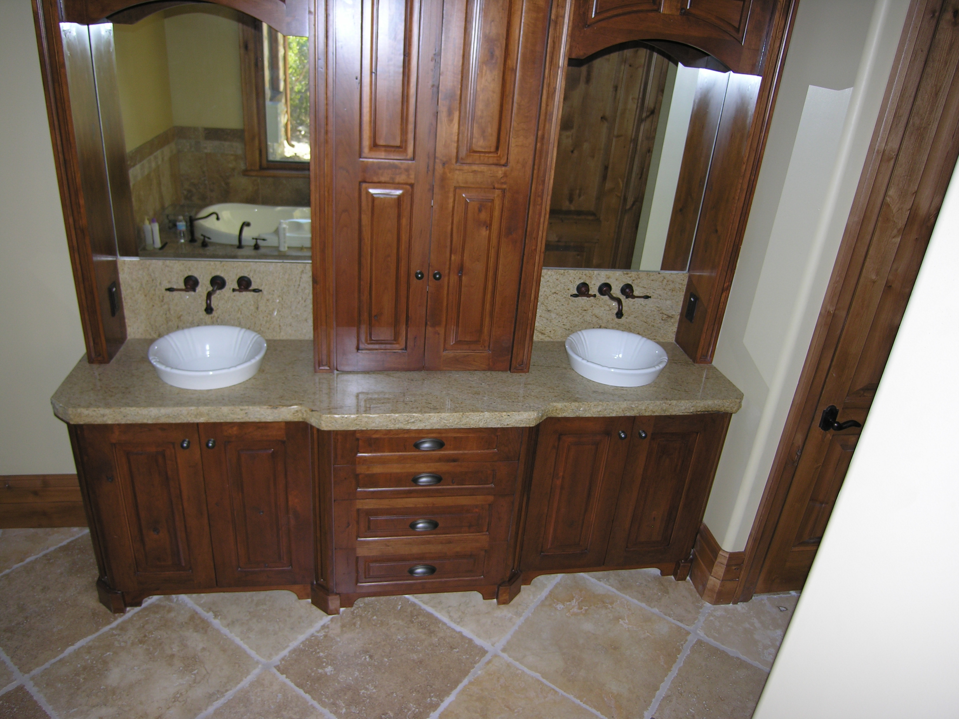 56 Inch Bathroom Vanity Without Top
