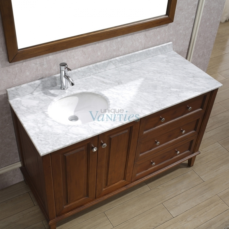 60 Inch Bathroom Vanity With Offset Sink
