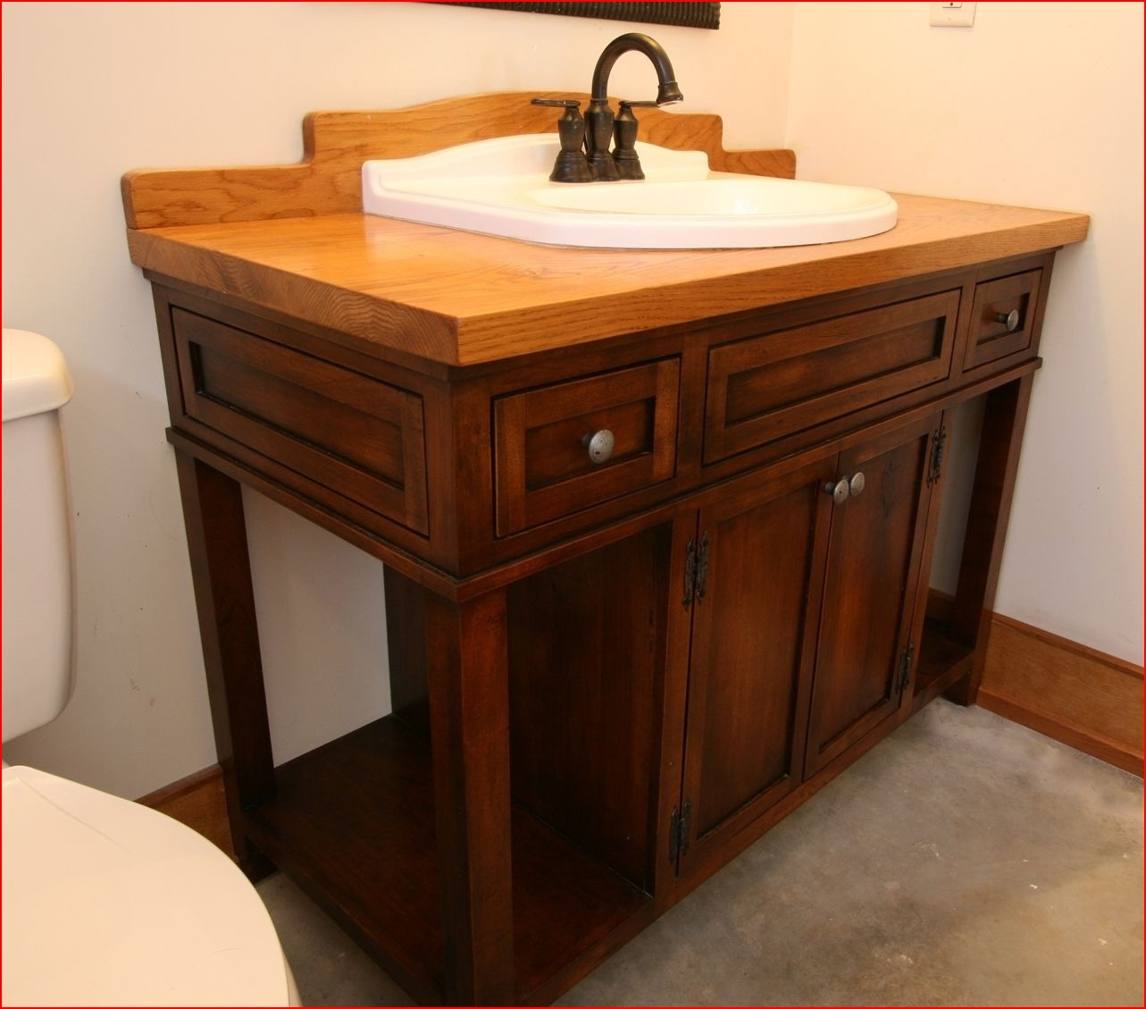 Alternatives To Custom Built Bathroom Vanities
