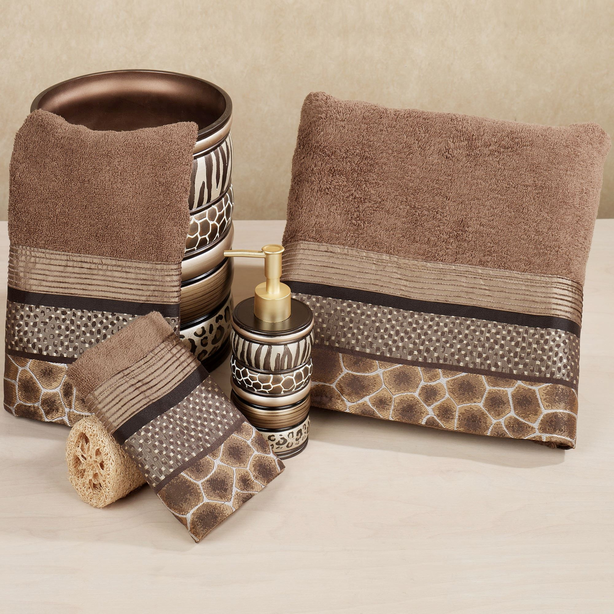Animal Print Bathroom Rugs And Towels