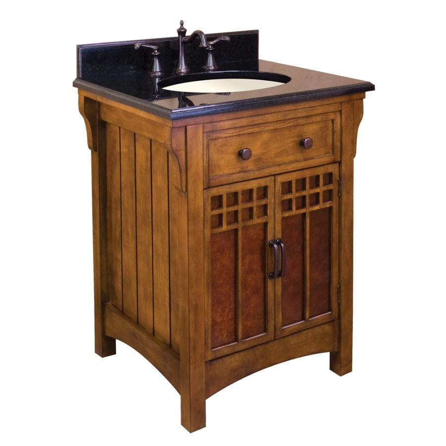 Arts And Crafts Style Bathroom Vanity