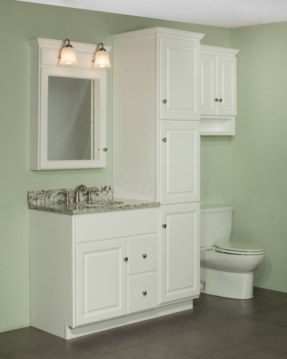 Bathroom Cabinets With Linen Tower