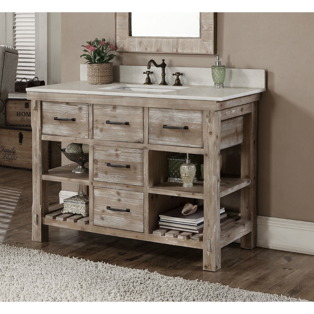 Bathroom Vanities With Tops Rustic