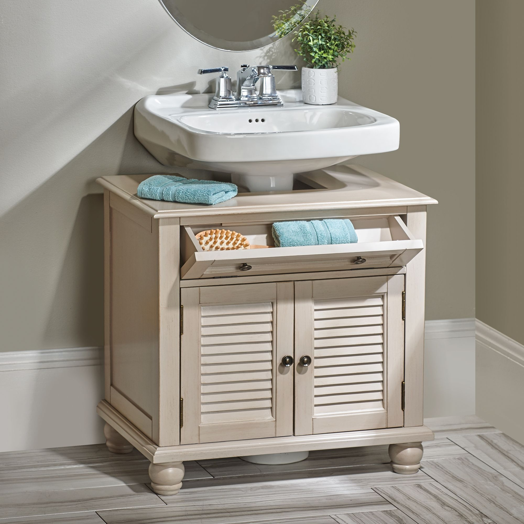 Bathroom Vanity For Pedestal Sink