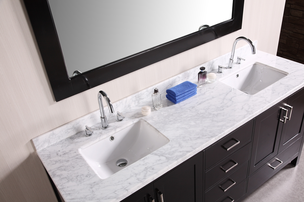 Bathroom Vanity Top Two Sinks
