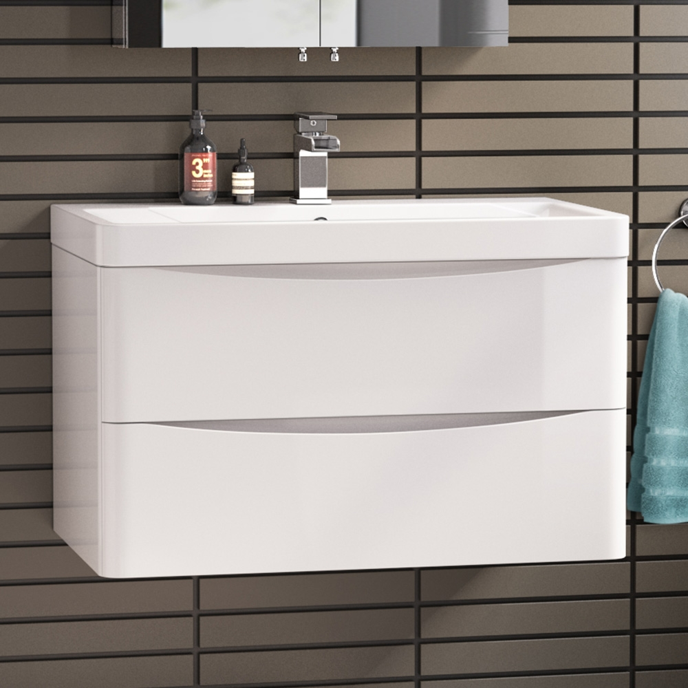 Bathroom Vanity Units With Basin Wall Hung