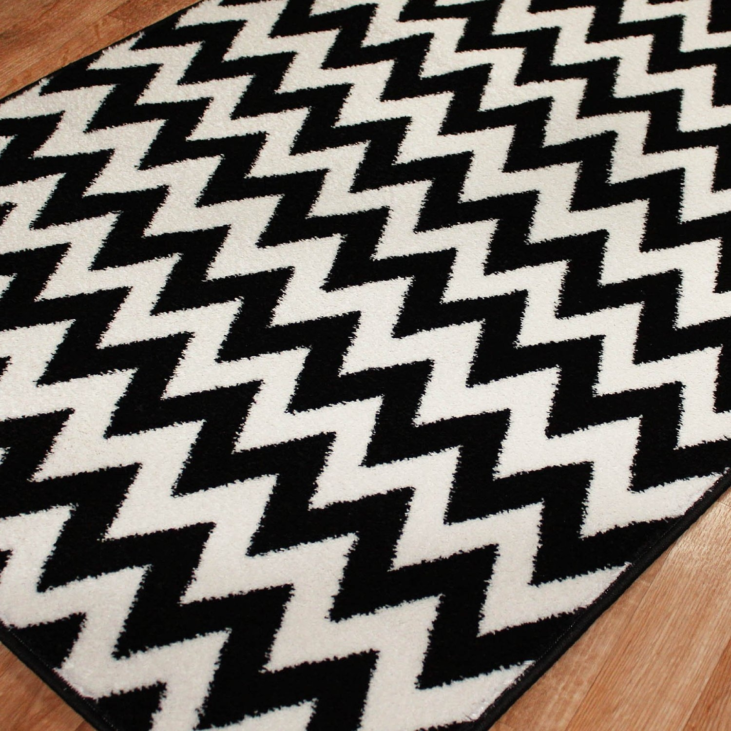Permalink to Black And White Chevron Bathroom Rugs