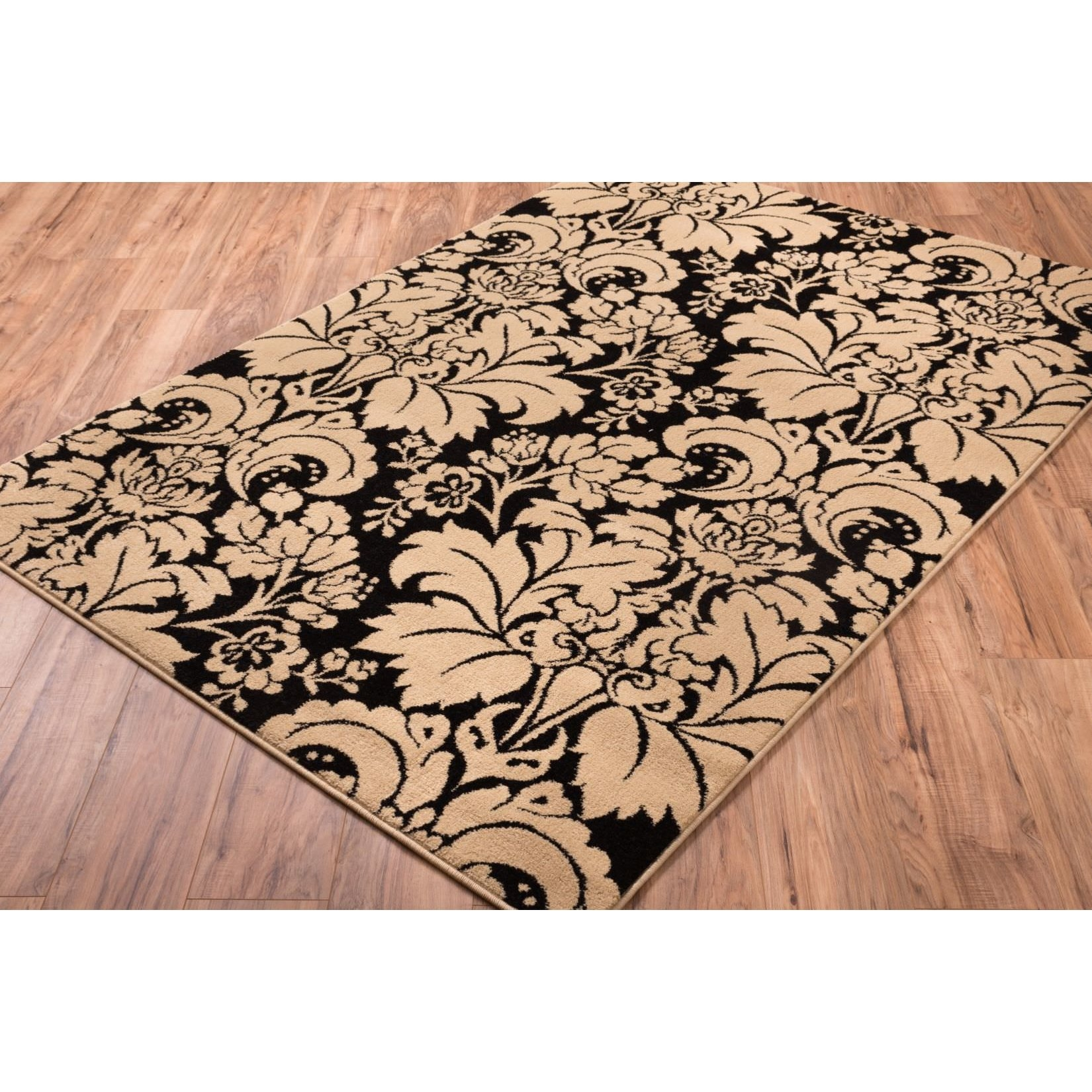Permalink to Black And White Toile Bathroom Rugs