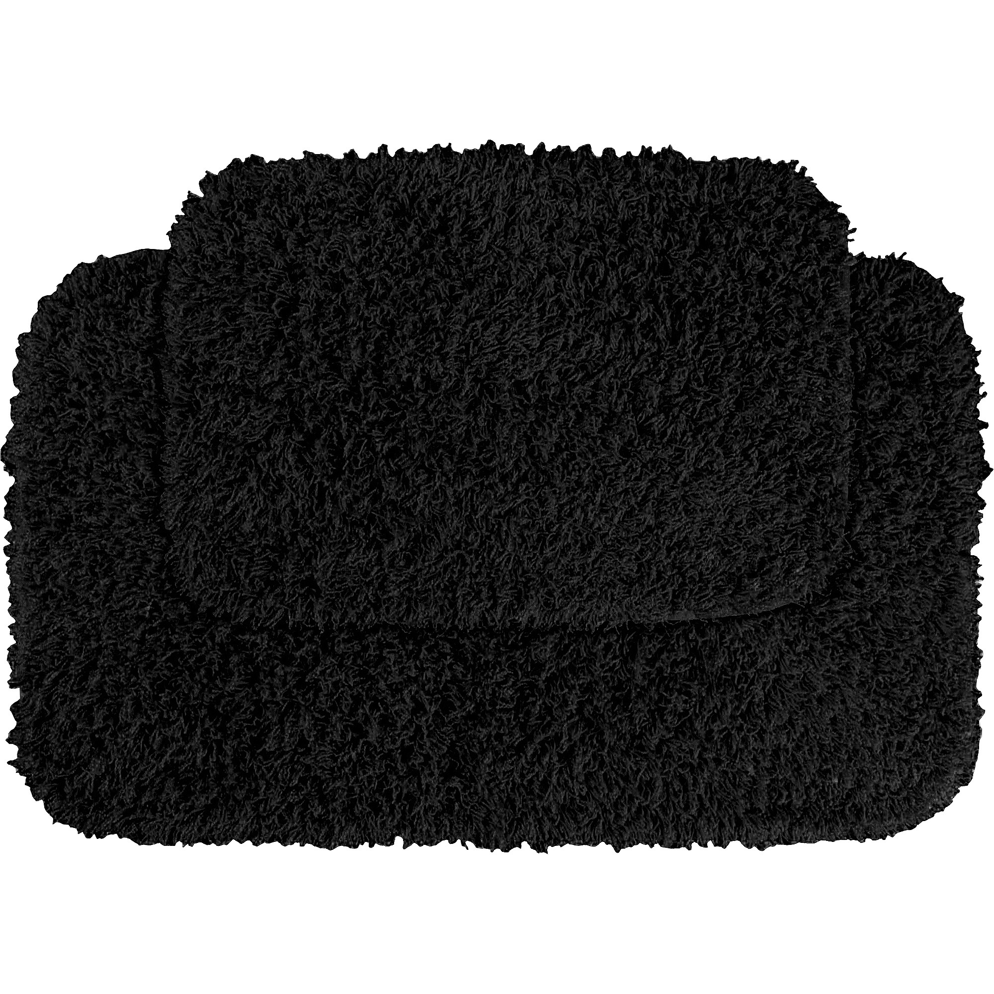 Permalink to Black Bathroom Mat Set