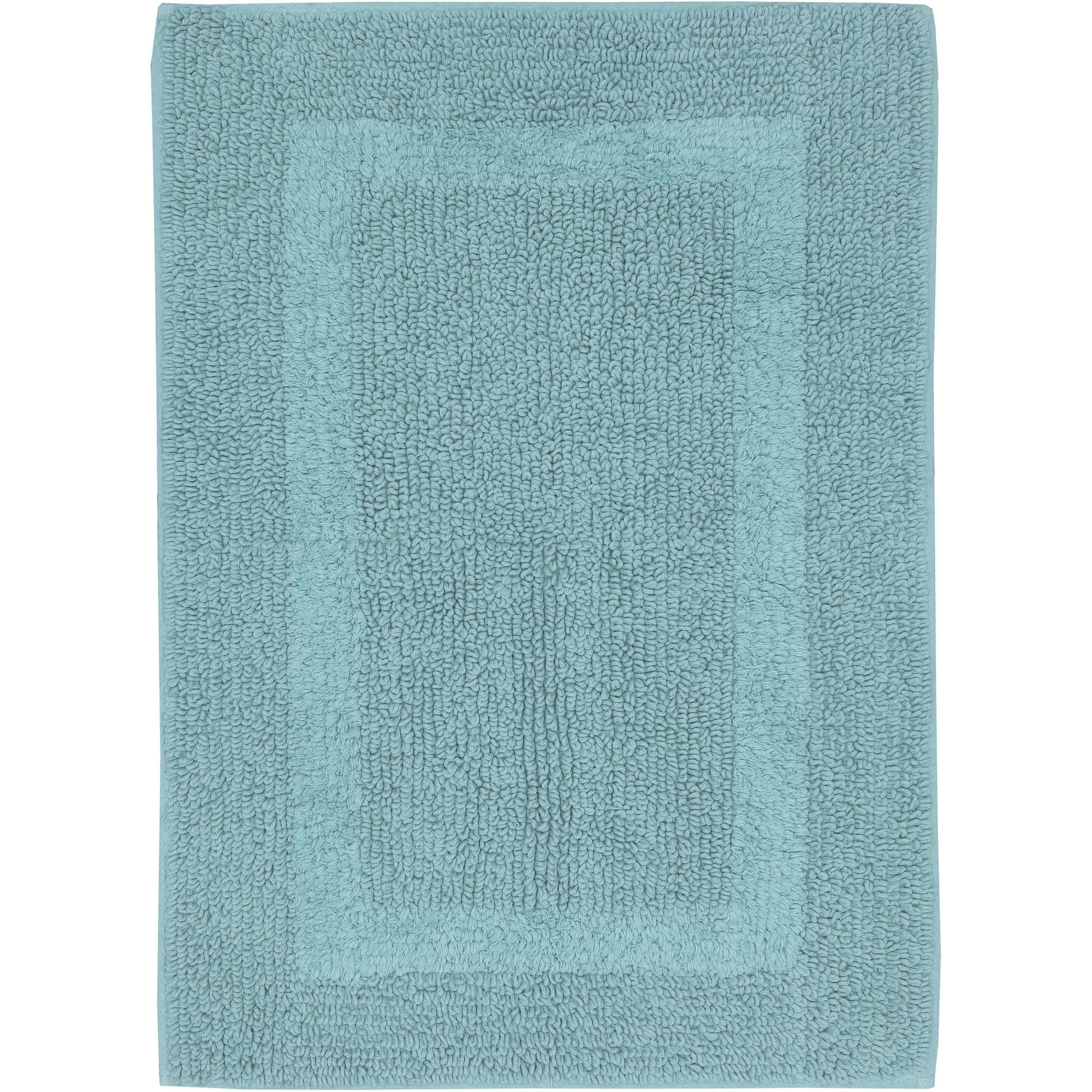 Bright Turquoise Bath Rugs