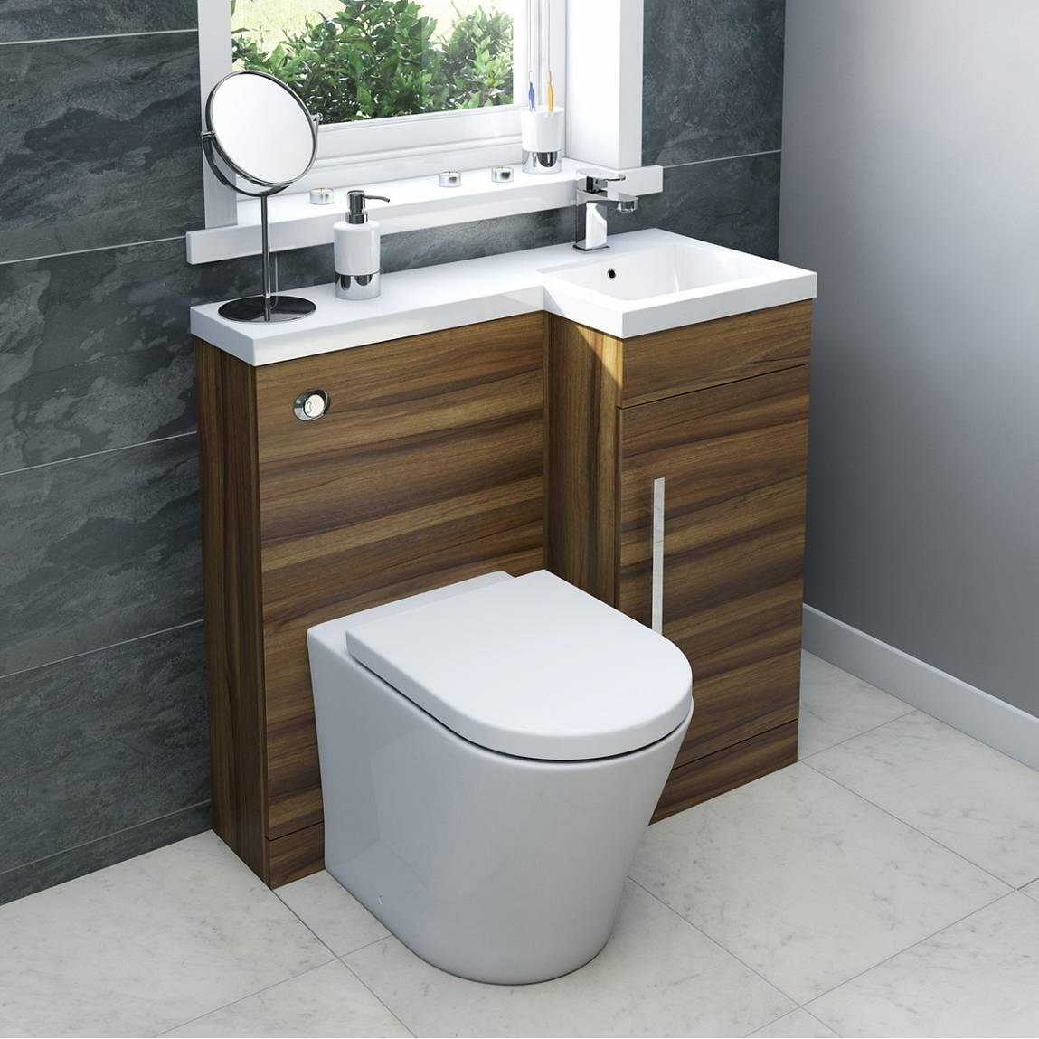 Combination Vanity Units For Small Bathrooms
