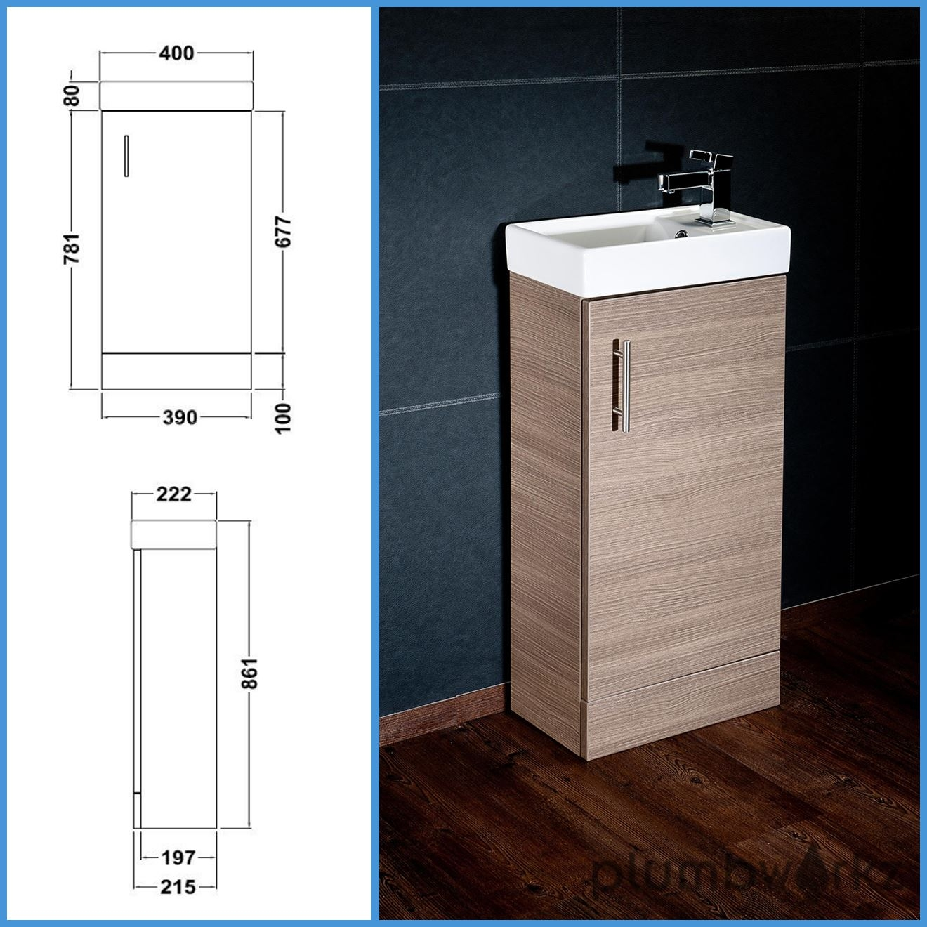 Compact Bathroom Vanity Units