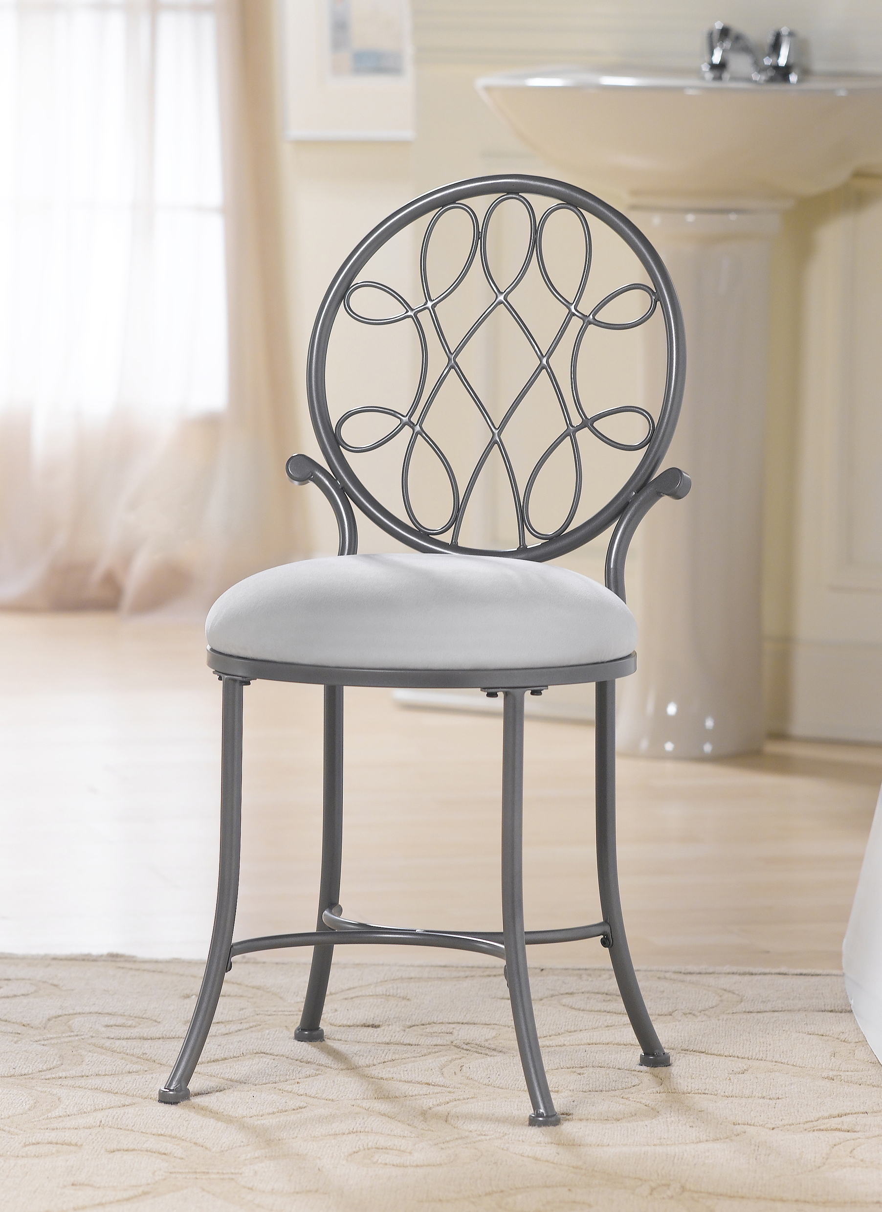 Contemporary Vanity Chairs For Bathroom