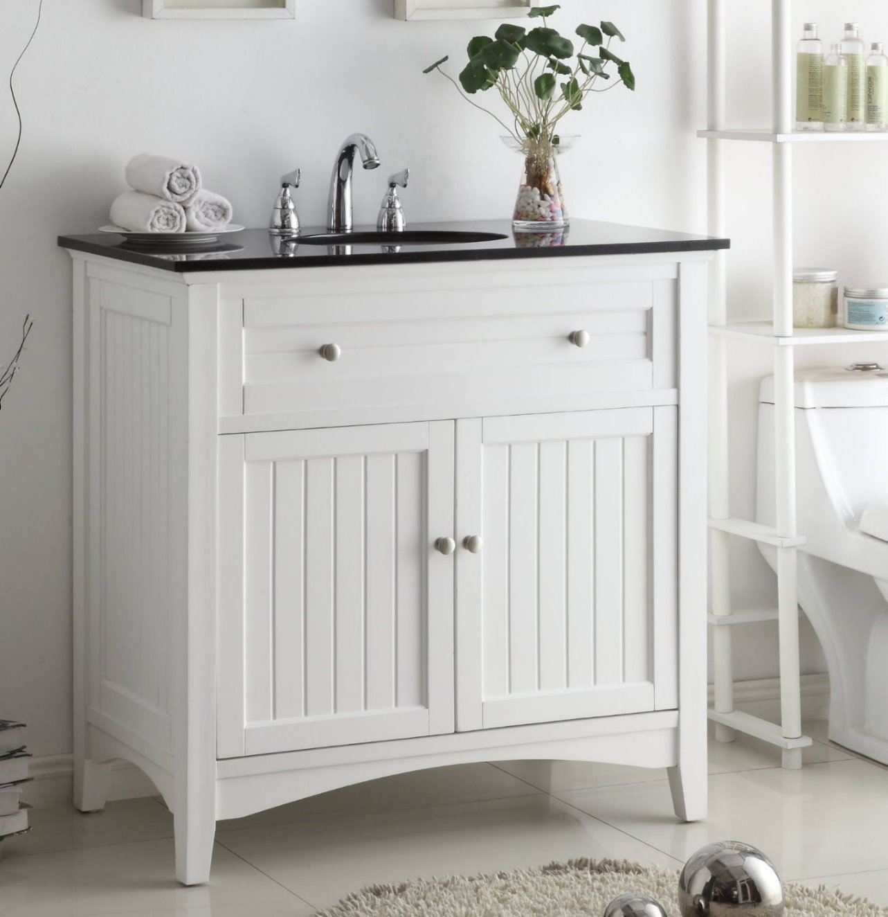 Cottage Style Vanities For Bathrooms
