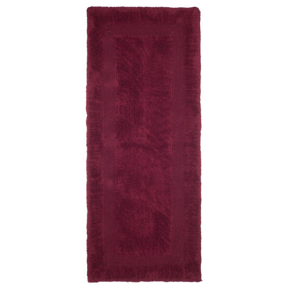 Extra Long Bathroom Runner Rugslavish home rose 2 ft x 5 ft cotton reversible extra long bath