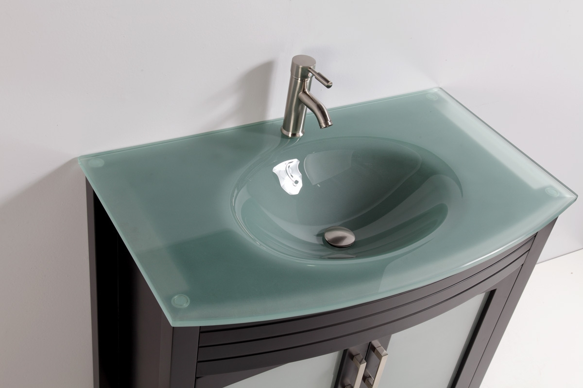 Permalink to Glass Top Vanities Bathrooms