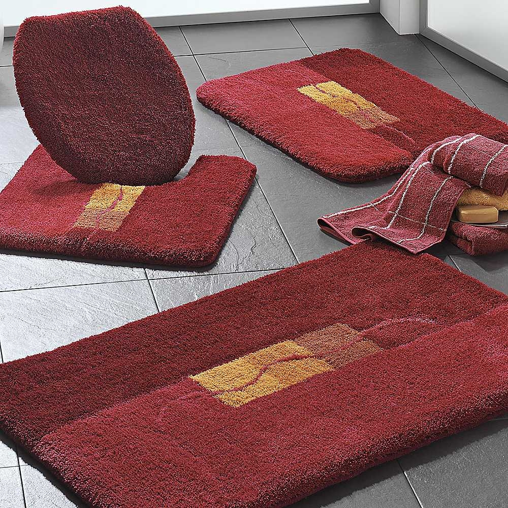 Gold Bath Mat Sets