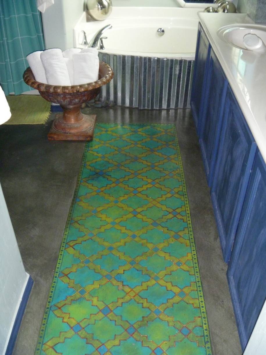 Permalink to Green Bath Rug Runner