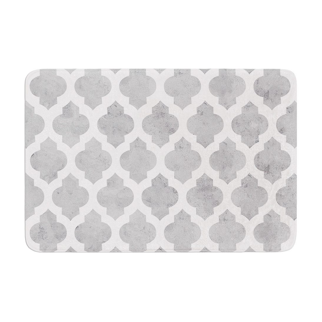Grey And White Bathroom Rugs