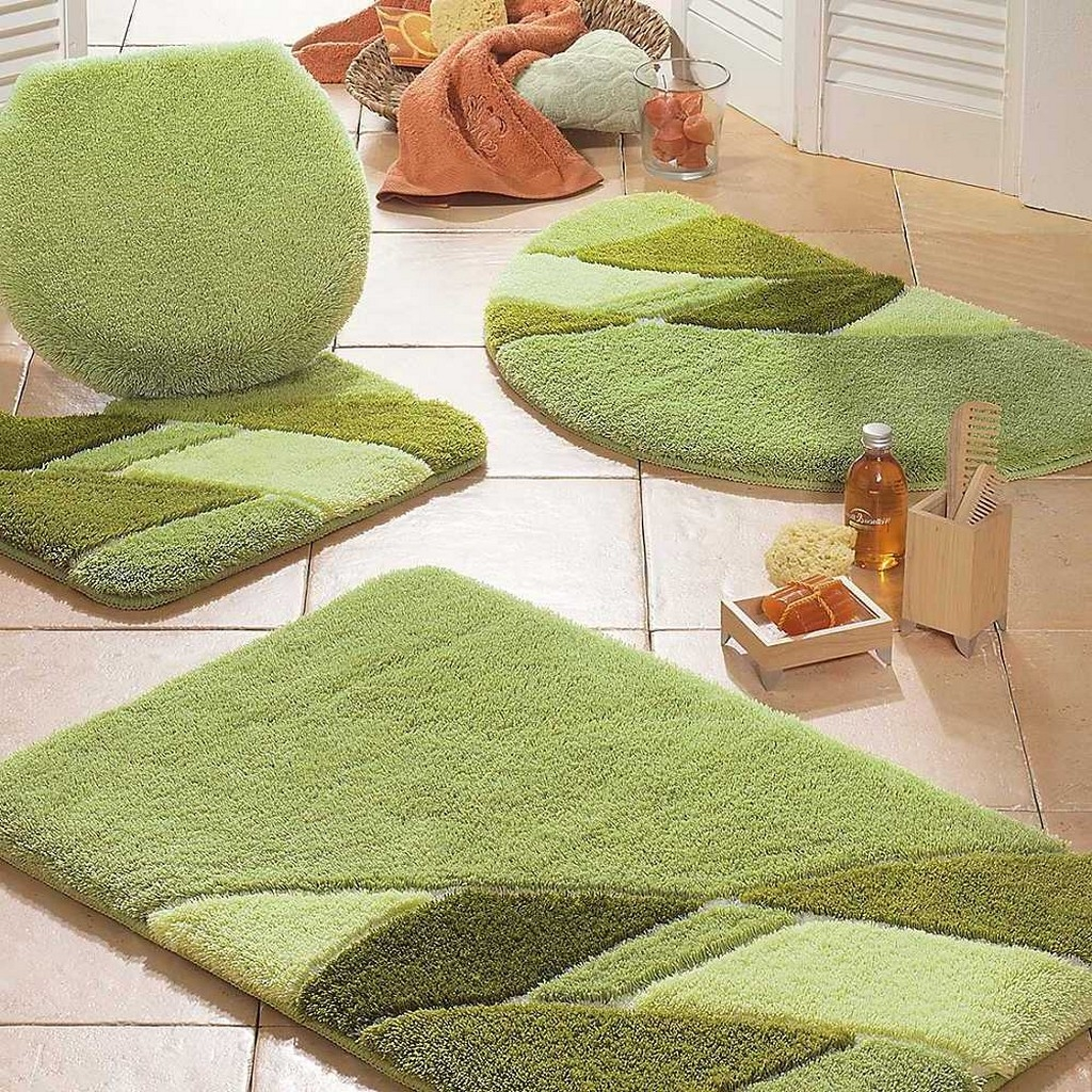 High End Bathroom Rugs
