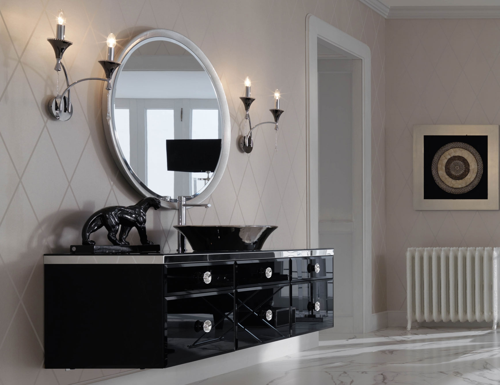 High End Bathroom Vanity Cabinets