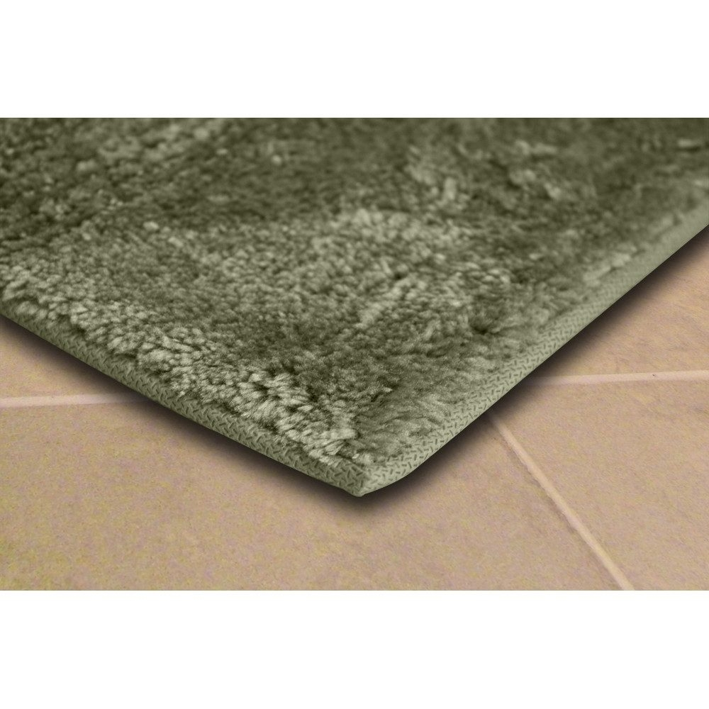 Hunter Green Bathroom Rugs