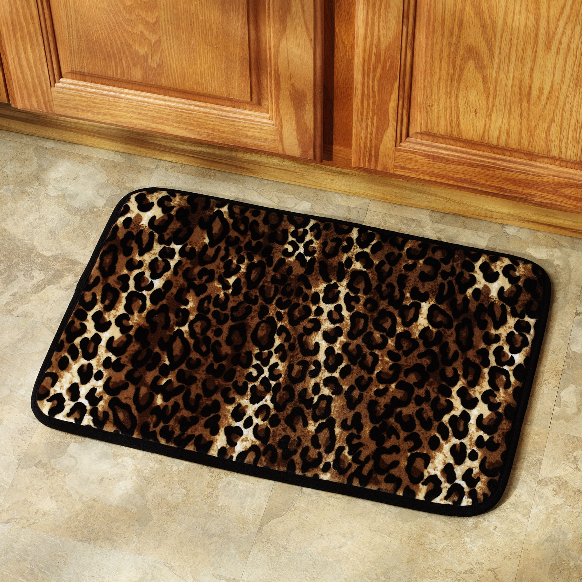 Permalink to Leopard Bathroom Rug Set