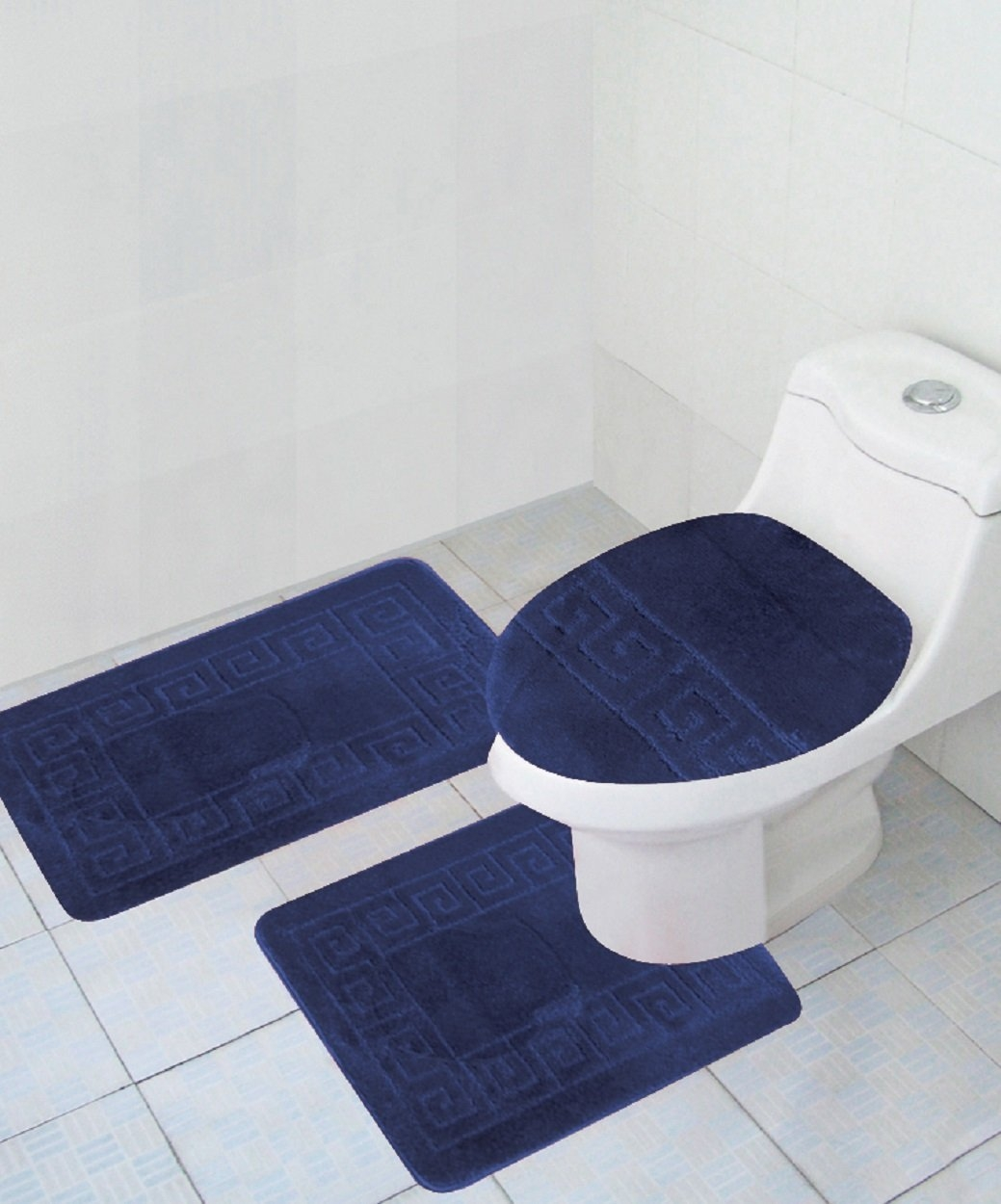 Permalink to Memory Foam Bathroom Rug Set