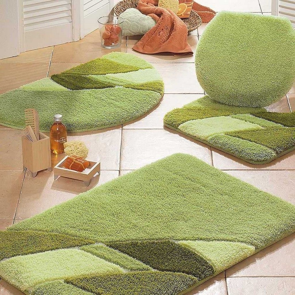 Permalink to Mint Green Bathroom Rug Set
