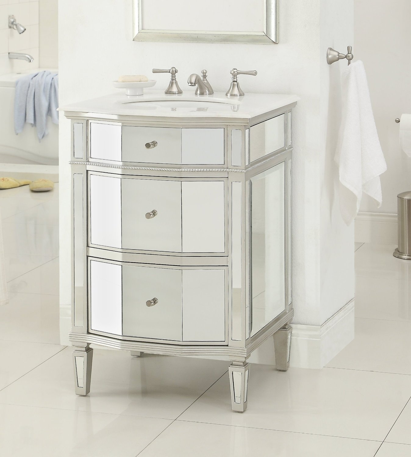 Mirror Vanities For Bathrooms